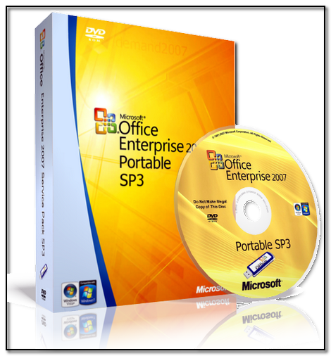 Microsoft Office 2007 Enterprise SP3 Rus + все обновления 07.01.2014