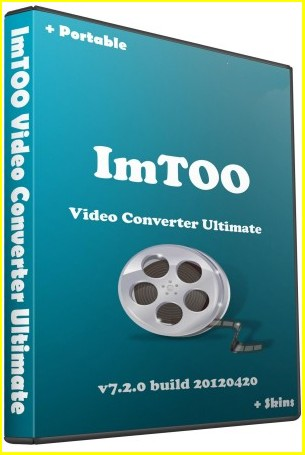 Скачать ImTOO Video Converter Ultimate Ключ Вшит 7.2.1 build 20120420 Русский Portable Plus Skins, 2012