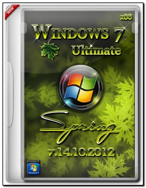 Скачать Windows 7 Ultimate x86 spring 14.10.2012 (RUS 2012)