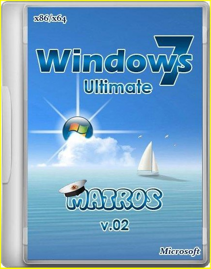 Скачать Windows 7 x86 x64 Ultimate, RUS, 2013 Matros v.05
