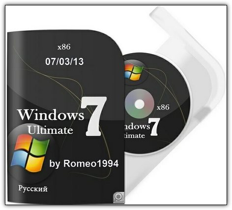 Скачать Windows 7 x86 Ultimate v.1.3.13 by Romeo1994 (2013/RUS)