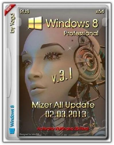 Скачать Windows 8 Professional x86-x64 Update 2013 RUS